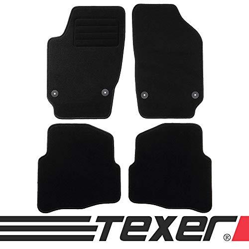 CARMAT TEXER Textil Fußmatten Passend für VW Polo IV 9N Bj. 2001-2009 Basic