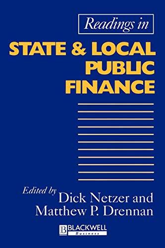 Read State Local Pub Financeの詳細を見る
