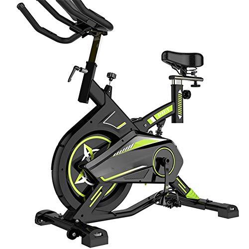 ZCYXQR Bicicletas de Ejercicio Bicicleta de Ejercicio Interior silenciosa Spinning Equipo de Fitness para el hogar para Entrenamiento Cardiovascular (Deporte de Interior)
