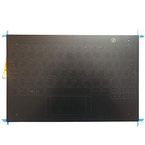 Teclado de repuesto compatible para Lenovo Yoga Book YB1-X90L YB1-X90F YB1-X90 Latin Layout Touch