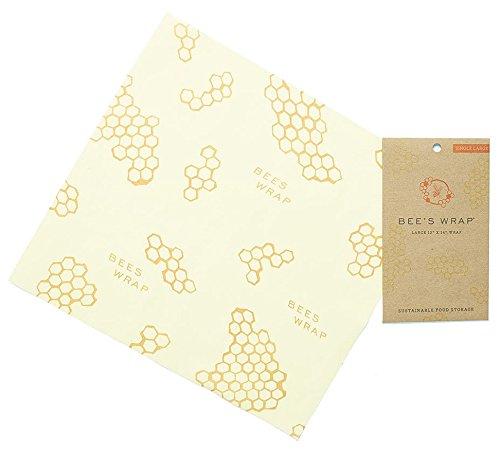 Bee's Wrap großes Tuch, 33x 35cm, beige