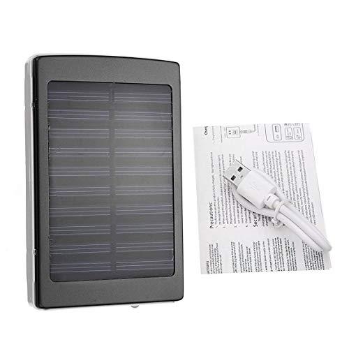 KoelrMsd Cargador de batería Externo al Aire Libre del Banco del Poder del Panel Solar para la Capacidad Grande de los Smartphones 50000mAh