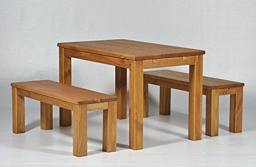 Sitzgruppe Garnitur mit Esstisch
