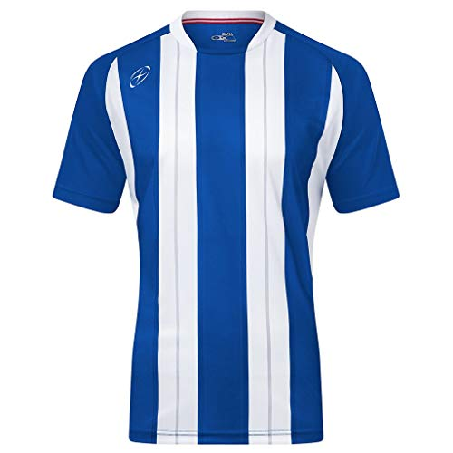 Xara Highbury Shirt, Royal/White - Youth Large