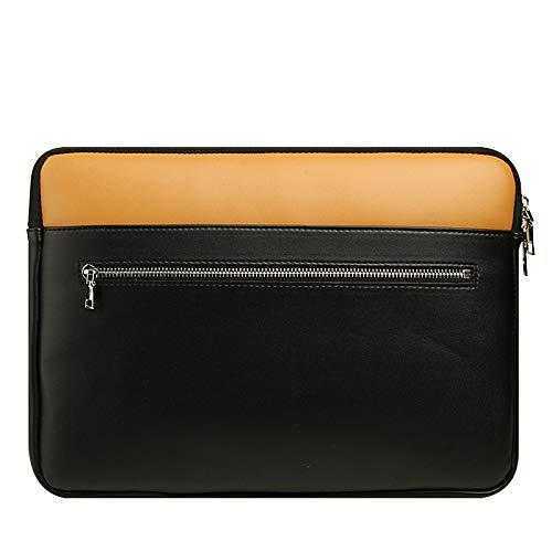 11 inch Faux Leather Carrying Sleeve Case Breifcase Cover for iPad Air 4 10.9 / iPad 8 10.2 / iPad Air 10.5 / iPad Pro 11 / Lenovo Tab P11 Pro 11.5 / Samsung Galaxy Tab S7 11 / S7+ 12.4 / Tab A7 10.4
