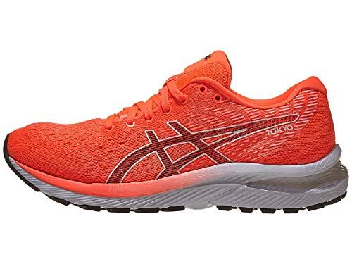ASICS Women's Gel-Cumulus 22 Tokyo Running Shoes, 6.5, Sunrise RED/Black