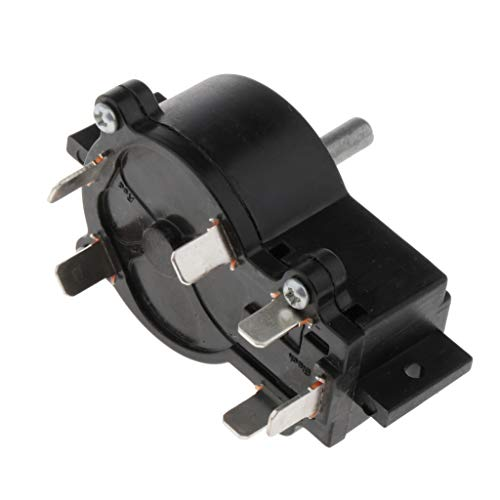 Toygogo Kayak Fueraborda Trolling Motor Switch Controlador De 5 Velocidades para T34 ET44 ET54