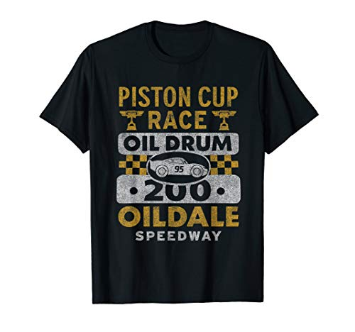Disney PIXAR Cars Piston Cup Race Oildale Speedway T-Shirt