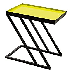 moss color home decor side table