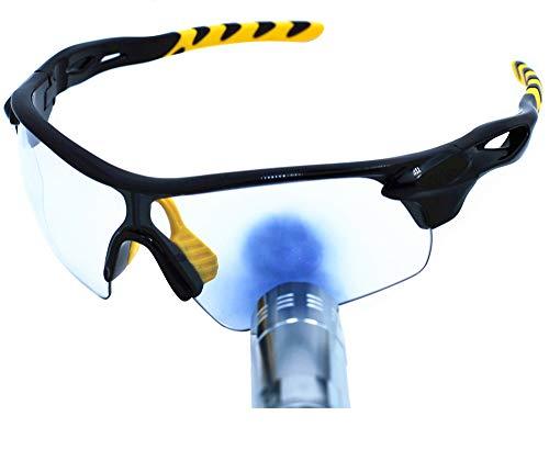 Preisvergleich Produktbild OSSAT Männer - sport - sonnenbrille,  UV400 farbe - übergang,  brille,  flexible TR90 bilderrahmen Starke anti - schock brille fahrrad