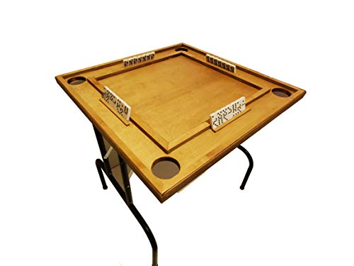 Domino Table Anti-scrash and Water-Resistant(Legs Included)