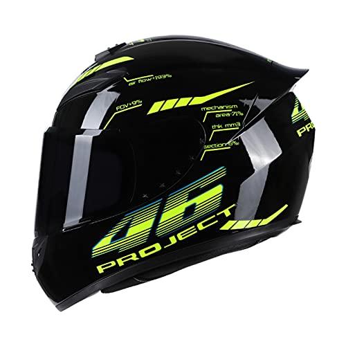 Kecheer Casco moto para hombre/mujer,Casco integral motocicleta,Cascos moto integrales