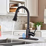 Touchless Kitchen Faucet with Pull Down Sprayer, Dalmo Single Handle Sensor Sink Faucet Oil Rubbed Bronze,...