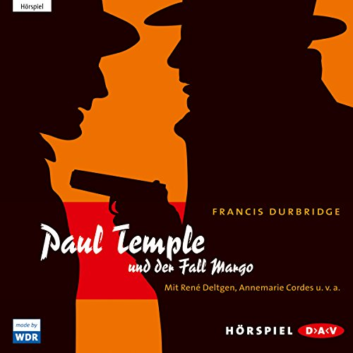 Paul Temple und der Fall Margo audiobook cover art