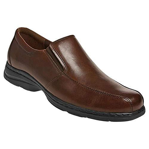 Dunham Men's Blair Slip-On,Brown Smooth,11 4E US