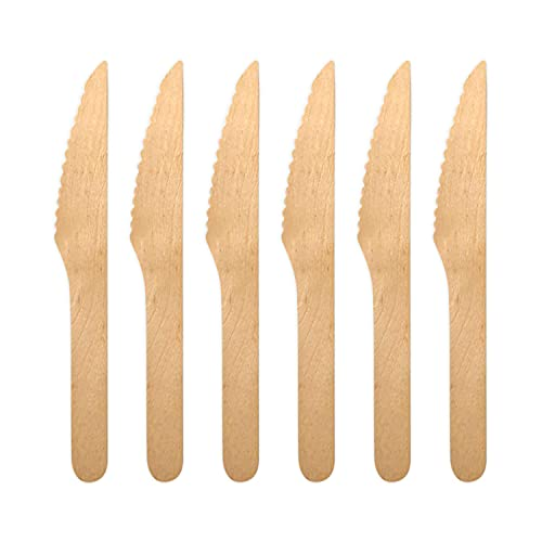 Palm Naki Bamboo Cutlery (40 Count) - Disposable Dinnerware, Eco-Friendly, Compostable and...