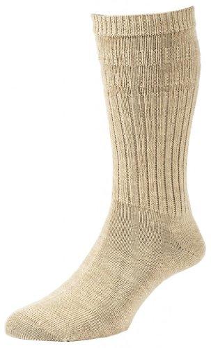 HJ Hall Herren Socken Bronze Large