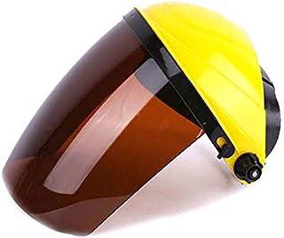SYMG Anti-splash Isolation Mask, Anti-impact Mask, PC Head-mounted Screen, Lightweight Anti-fall Welding Mask, Daily Wind & Dust Protection Mask,Seamless dust mask face mask turban multifunction