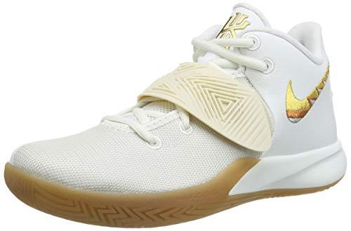 Nike Kyrie Flytrap 3, Zapatillas de Baloncesto. Hombre, Summit White Metallic Gold, 42.5 EU