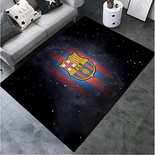 Alfombra Larga Rectangular Moda Creativa Manchester United Real Madrid Barcelona Ac Milan...