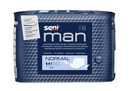 Seni Man Normal Flucht Schicht für Herren Pack von 15–Lot de 2