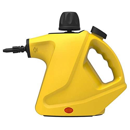 Ardentity Stoomreiniger, handstoomreiniger, draagbaar, multifunctioneel, met 6 accessoires voor het verwijderen van vlekken, tapijten, gordijnen, autostoelen