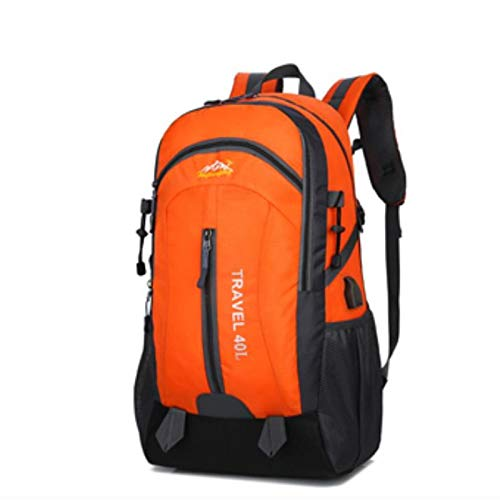 Waterproof Backpack Hiking Bag Cycling Climbing Backpack Travel Outdoor Bags USB Charge Anti Theft Sports Bag 40L