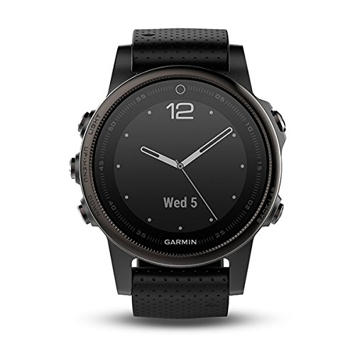 Garmin Fenix 5S Bluetooth Black Sport Watch ? Sport reloj (Black