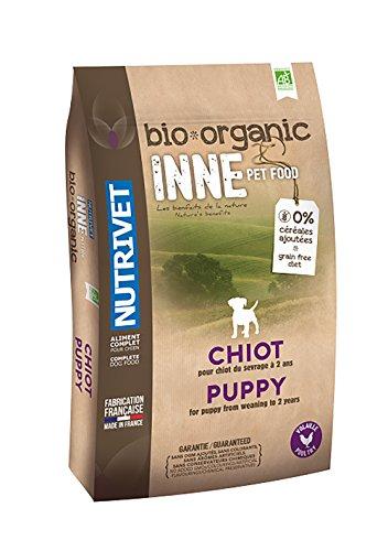 Nutrivet Inne Pet Food alimento Completo Bio per Cucciolo 12kg