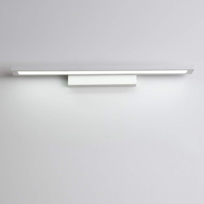 CCSUN Rechteck-rohr Led spiegelleuchte badlampe, Led spiegelbeleuchtung Modren Eisen Eitelkeit leuchten Wand-lampen - 40cm(15.7 in)-20W Natürliches Licht