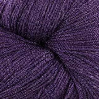 Valley Yarns Charlemont Fingering Weight Sock Yarn, Superwash Merino Wool/Silk/Polyamide - Purple Passion