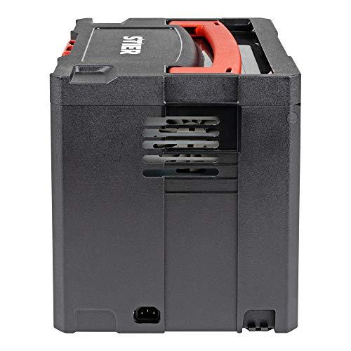 STIER Systainer Kompressor SKT 160-8-6, ölfrei, 1.100 W Motorleistung, SysMaster kombinierbar mit anderen Systainern, Druckluft, Mobiler Kompressor - 4