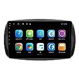 Android 10.0 Radio 2 DIN Estéreo para Mercedes Benz Smart Fortwo 2015-2018 Navegación GPS IPS Pantalla táctil Reproductor Multimedia Receptor de Video con 4G WiFi Bluetooth SWC Carplay