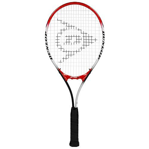 Dunlop Nitro 25, Racchetta da Tennis Unisex Adulto, Rosso e Bianco, Pollici