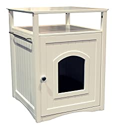 Cat Litter Box Furniture Keeping It All Covered