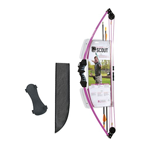 Bear Archery AYS6000PL Scout Youth Bow Set, Purple