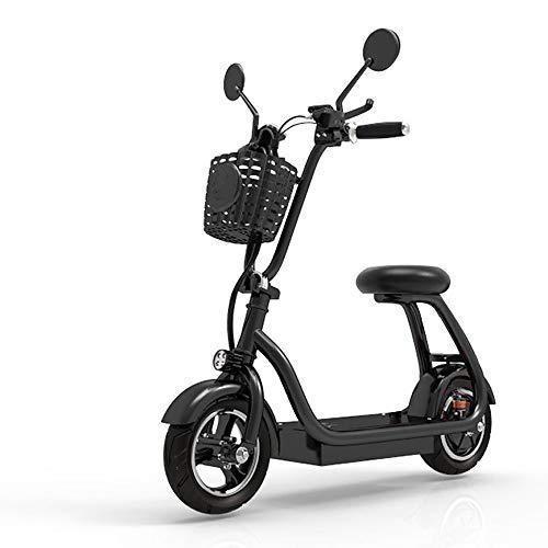 Xiuxiu Ruote Pieghevoli Pieghevoli E-Bike Bicicletta da 41 Pollici, Bicicletta da Montagna 580W Bicicletta Elettrica con capacità Batteria al Litio, Indicatore LED