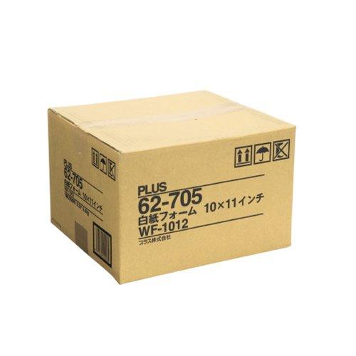 スマートマットライト プラス 連続用紙 ストックフォーム 11×10 白紙 2000枚 WF-1012 62-705