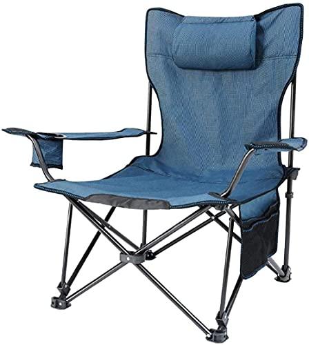 LE Stuhlkissen Silla de camping, para la terraza, playa, al aire libre, plegable, de tela Oxford, ajustable, multifunción, apta para senderismo, pícnic