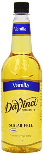 DaVinci Gourmet Sugar Free Vanilla Syrup Pet, 1er Pack (1 x 1 l)