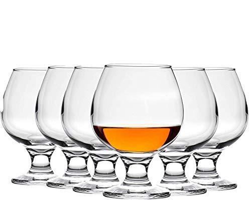 Weingläser Kristallgläser 6er Set Weingläser 6er Set Cognac Gläser 390ml Brandy Glas 6er Set Whiskey Gläser 6er Set Cristal d'Arques Brandy Gläser 6er Set