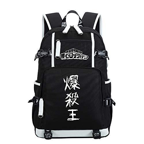 Siawasey My Hero Academia Anime Boku no Hero Academia Cosplay Mochila Daypack Bookbag portátil escuela
