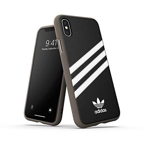 adidas Originals Samba - Carcasa para iPhone XS/X, Color Negro y Blanco