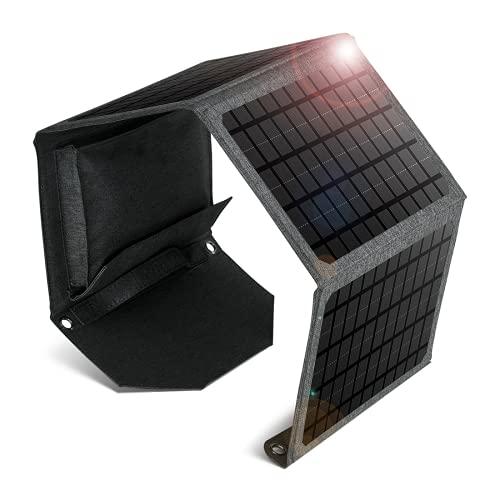 Bolso plegable solar al aire libre impermeable del portable 24W, tablero de carga solar dual de la emergencia del usb del cargador del teléfono móvil
