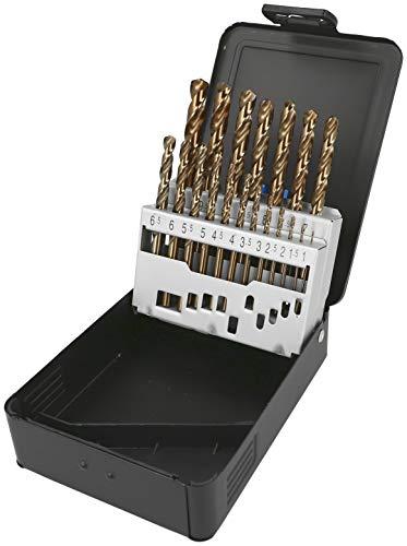 Heller Tools 990 Co HSS Cobalt Edelstahlbohrer, Grau