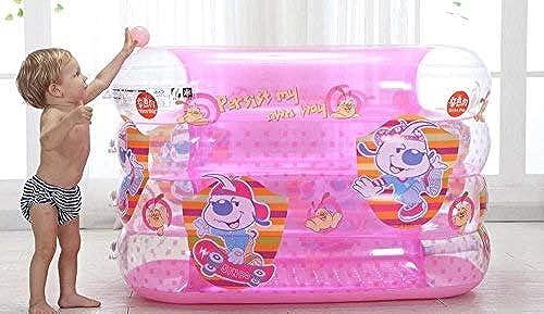 Baignoire Gonflable Seau Gonflable de Bain de bébé d'enfants de Famille de Piscine