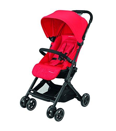 Bébé Confort Lara Kinderwagen, kompakt und leicht, in 3 Sekunden zusammenklappbar Nomad Red