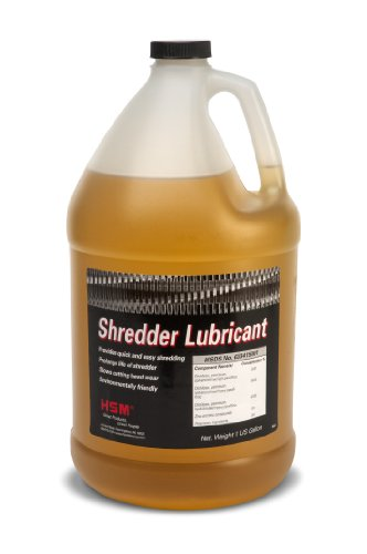 HSM 315 Shredder Oil Bottle 1 Gallon