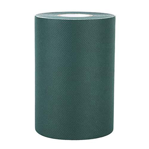 Goick Cinta de Hierba, 150mm * 10m Cinta de Costura de césped Artificial Cinta de césped Alfombra de Hierba Cinta Adhesiva de Hierba(Verde)