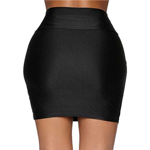 Micro Mini Faldas Mujeres ChicaVerano Balck Faldas para Mujer Sexy Paquete Informal Cadera Falda Corta Fiesta de Mujeres Falda Femenina Streetwear